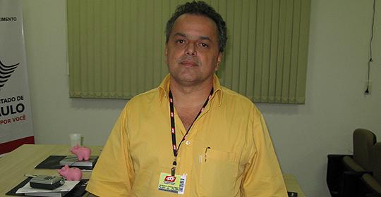 Valdomiro Ferreira Jr., presidente da APCS