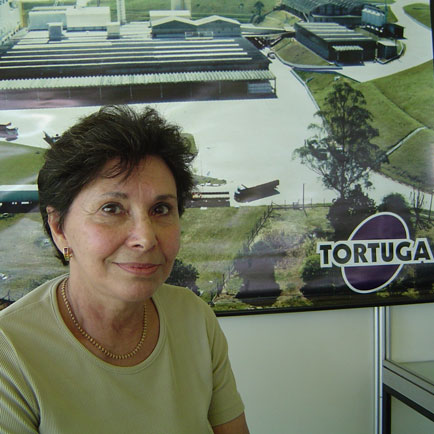 Creusa Fabiani- Presidente da Tortuga., Show Rural Coopavel 2005, Show Rural Coopavel 2005