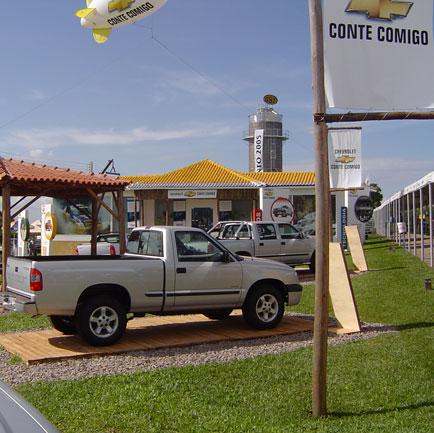 Estande Chevrolet, Show Rural Coopavel 2005, Show Rural Coopavel 2005