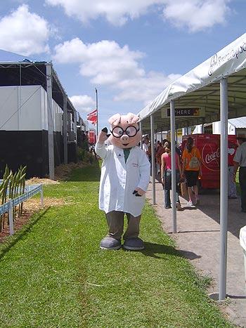 Professor Suíno, Show Rural Coopavel 2005, Show Rural Coopavel 2005