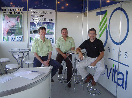 Equipe Nuvital., Show Rural Coopavel 2005, Show Rural Coopavel 2005