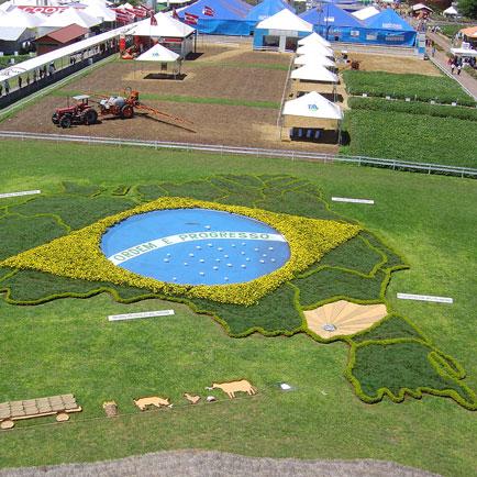 Vista do Mirante., Show Rural Coopavel 2005, Show Rural Coopavel 2005
