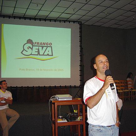 Ivan- Diretor ,  Marciano Gerente de Produção, Dia de Granja Frango Seva, Dia de Granja Frango Seva