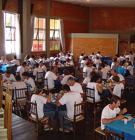 Almoço, Dia de Granja Frango Seva, Dia de Granja Frango Seva