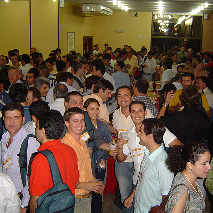 Coquetel de abertura Brasil Sul, VI Seminário Brasil Sul 2005, VI Seminário Brasil Sul 2005