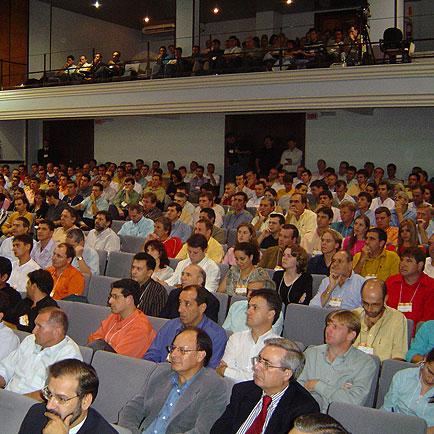 O bom público presente no Seminário, VI Seminário Brasil Sul 2005, VI Seminário Brasil Sul 2005