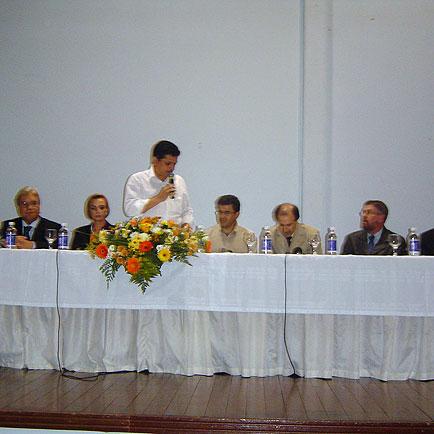 Pronunciamento do Prefeito de Chapecó, VI Seminário Brasil Sul 2005, VI Seminário Brasil Sul 2005