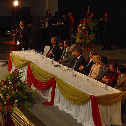 Braun em seu pronunciamento, 11o  Seminário Nacional de Desenvolvimento da Suinocultura, 11o  Seminário Nacional de Desenvolvimento da Suinocultura