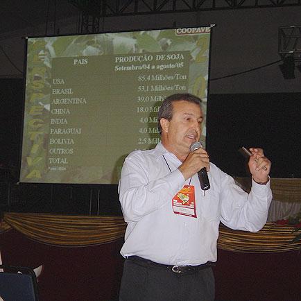 Palestra Dilvo Grolli, 11o  Seminário Nacional de Desenvolvimento da Suinocultura, 11o  Seminário Nacional de Desenvolvimento da Suinocultura
