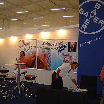 Stand Bayer, 11o  Seminário Nacional de Desenvolvimento da Suinocultura, 11o  Seminário Nacional de Desenvolvimento da Suinocultura