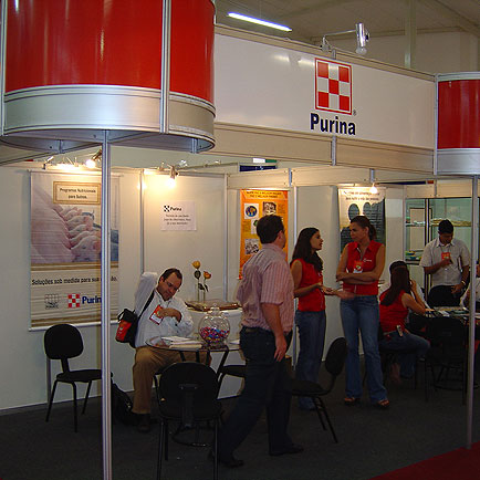 Stand Purina, 11o  Seminário Nacional de Desenvolvimento da Suinocultura, 11o  Seminário Nacional de Desenvolvimento da Suinocultura