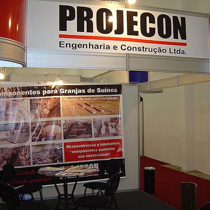 Stand Projecon, 11o  Seminário Nacional de Desenvolvimento da Suinocultura, 11o  Seminário Nacional de Desenvolvimento da Suinocultura