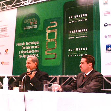 Professor Tabajara e Rogério Belzer, Agromix, Agromix