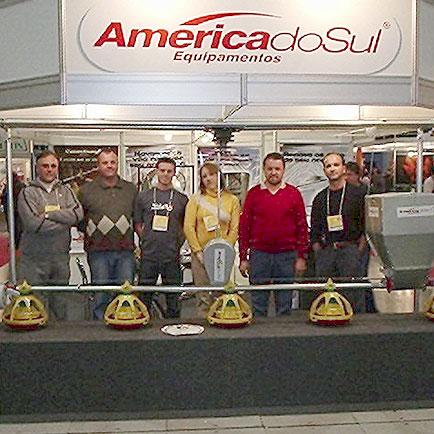 Estande América do Sul, Agromix, Agromix