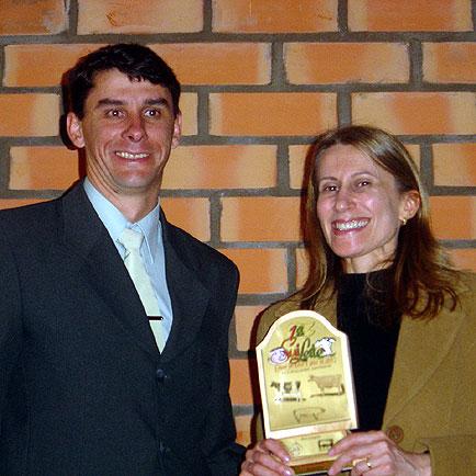 Troféu de participação da jornalista Estela, SuiLeite, SuiLeite
