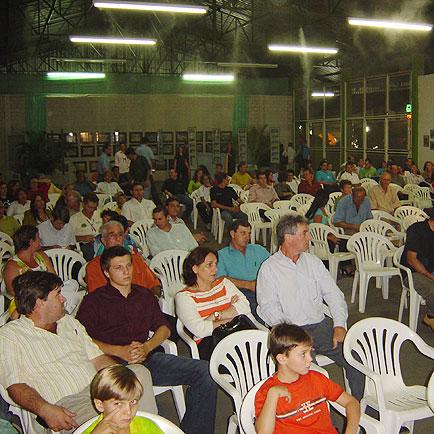 Público presente na solenidade, ExpoLucas, ExpoLucas