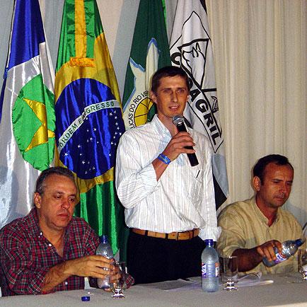 Presidente Paulo Franz abre as comemorações, ExpoLucas, ExpoLucas