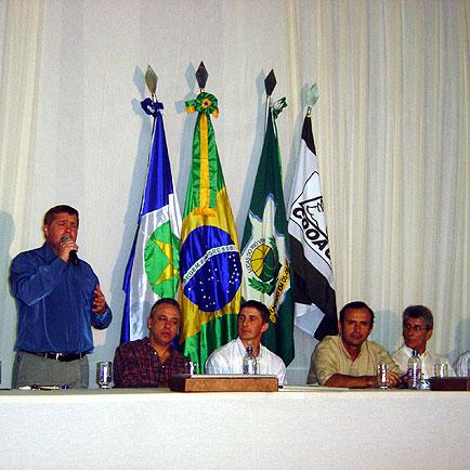Prefeito de Lucas,  Marino Franz, ExpoLucas, ExpoLucas