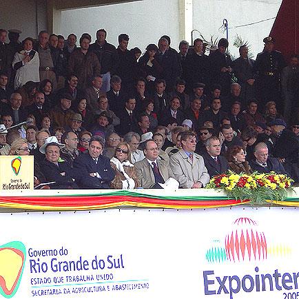 Autoridades Expointer, Expointer 2005, Expointer 2005