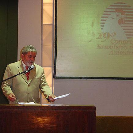 Presidente Lula na cerimônia de abertura, Congresso da UBA, Congresso da UBA