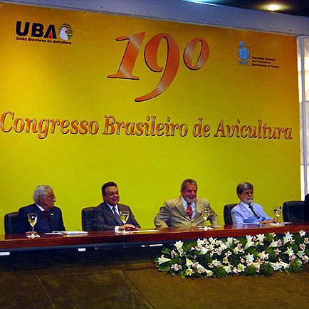 Mesa de autoridades na cerimônia de abertura, Congresso da UBA, Congresso da UBA