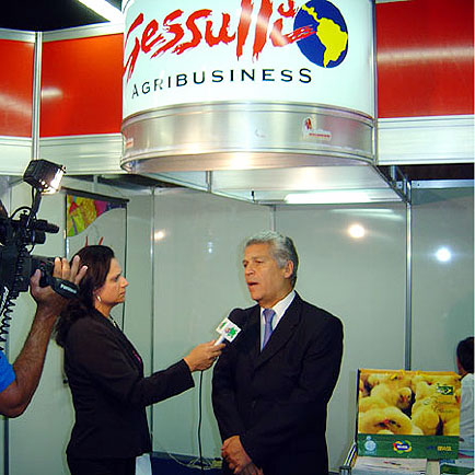 Ricardo M. (Perdigão) em entrevista p/ TV Local, Congresso da UBA, Congresso da UBA