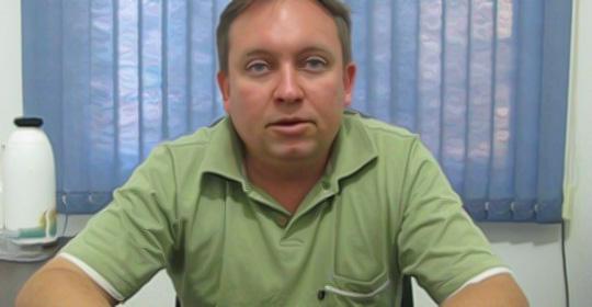 Jonas Steffanello, coordenador Técnico Comercial da Lucion Multiplicadora