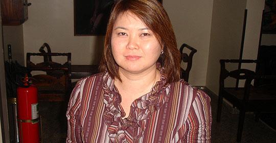 Luciana Miyagusku, pesquisadora do CTC/Ital