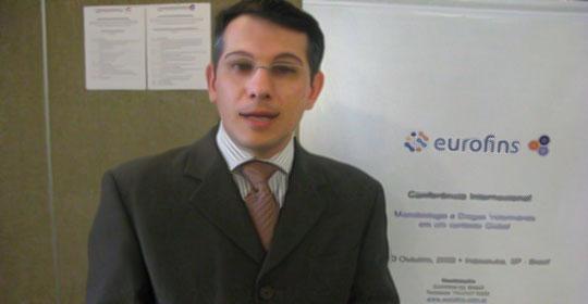 Edison de Fraia Junior, gerente geral da Eurofins