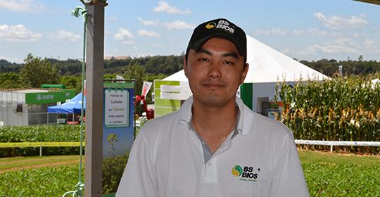 Michel Tamura, engenheiro agrônomo da BS Bios