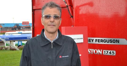 Roberto Ruppenthal Neto, gerente de Marketing de produtos da Massey Ferguson