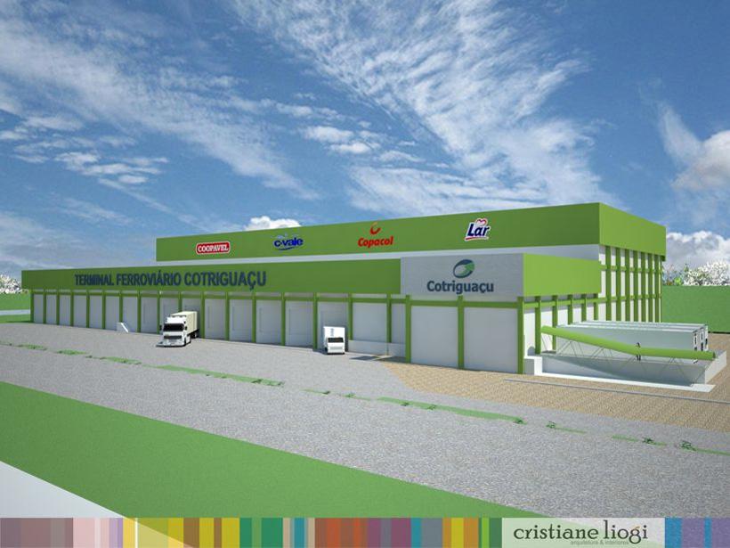 Inauguração Terminal Ferroviário Cotriguaçu - Cascavel (PR)