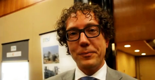 Marteen Gnoth, gerente de Negócios da GDF Suez