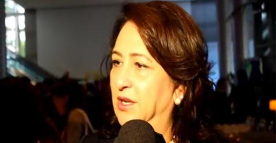 Kátia Abreu, senadora e presidente da CNA