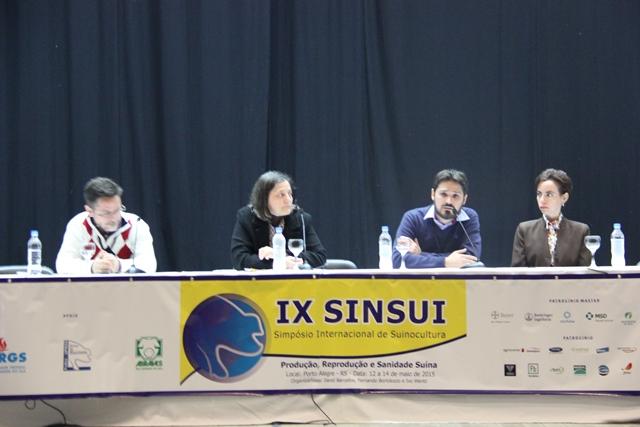 SINSUI 2015, SINSUI - Simpósio Internacional de Suinocultura, SINSUI - Simpósio Internacional de Suinocultura