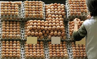 Oferta controlada de ovos eleva preços