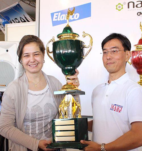 Festa do Ovo 2016, Teresa Godoy, Os melhores em qualidade de ovos recebem seus troféus em Bastos, Os melhores em qualidade de ovos recebem seus troféus em Bastos