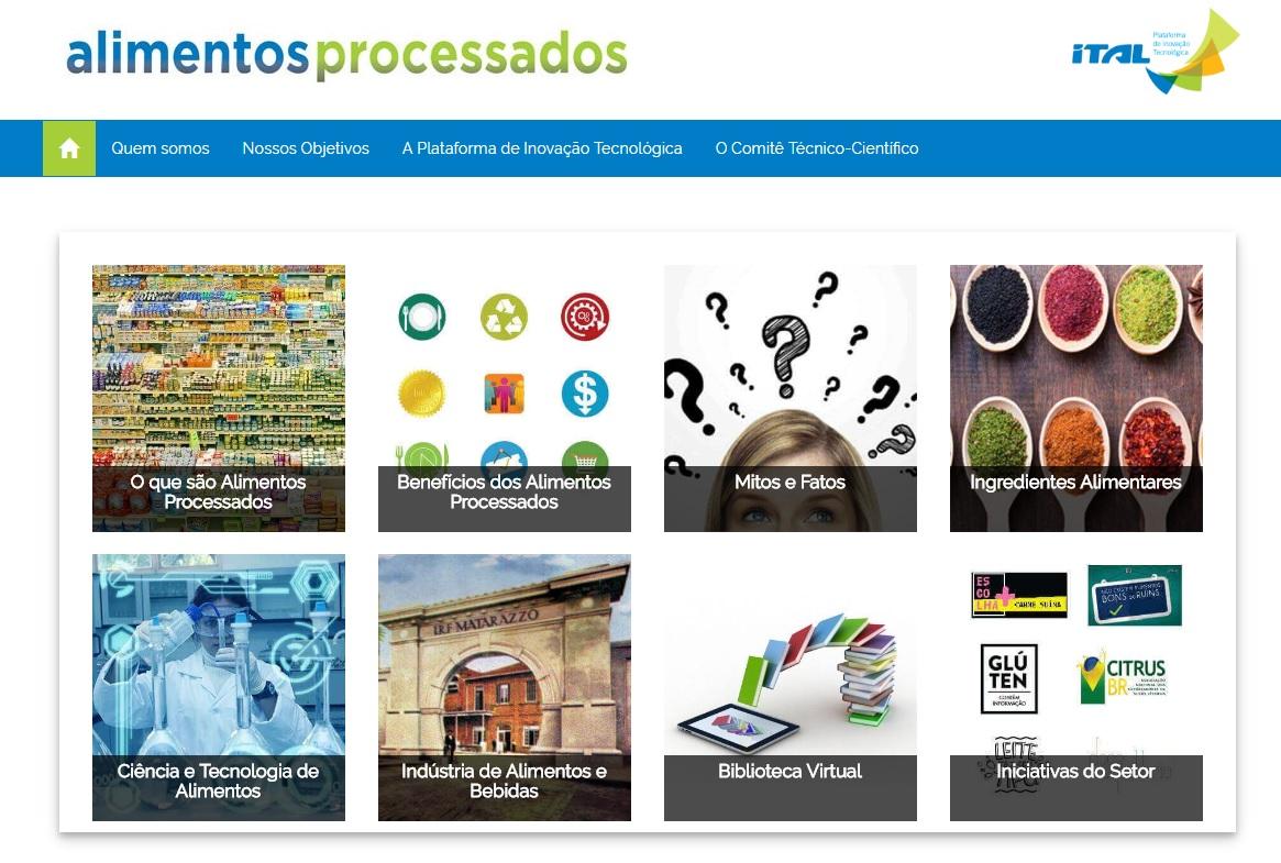 Para debater qualidade dos alimentos processados, ITAL lança plataforma digital