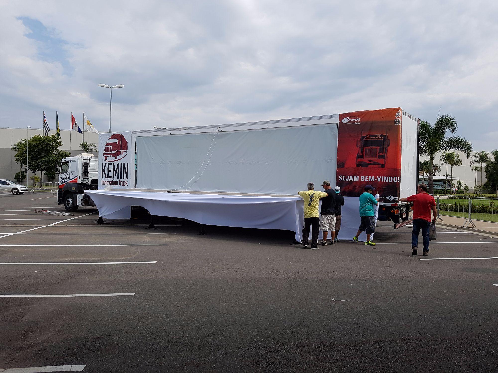 Kemin leva caminhão de inovações para a AveSui EuroTier