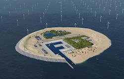 Empresas planejam ilha artificial para a exploração eólica no Mar do Norte