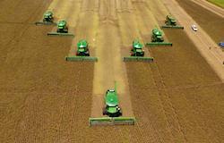 Produção de grãos está estimada em 228,6 milhões de toneladas