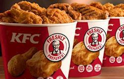 KFC cria uma esponja de banho com essência de frango frito