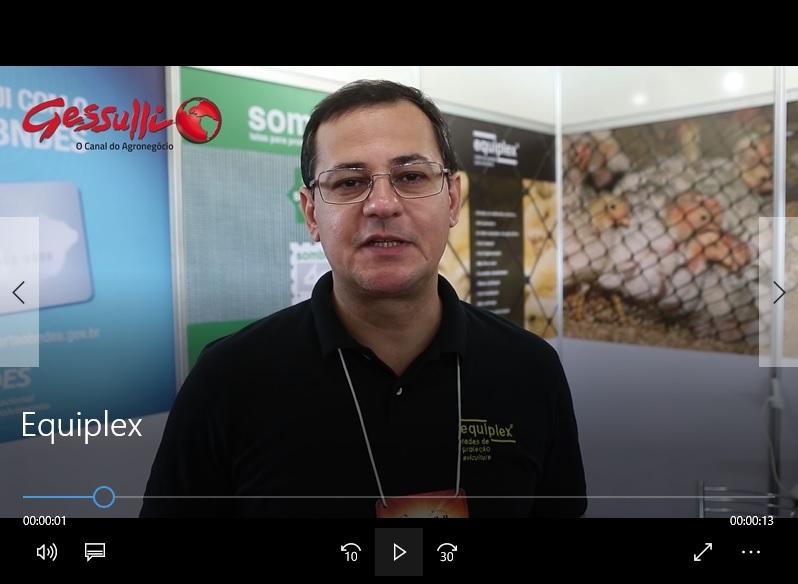 Equiplex oferece opções de redes de proteção para aviários