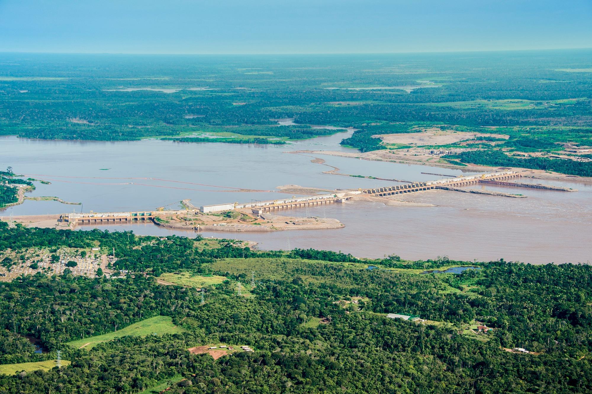 Em operação há cinco anos, Hidrelétrica Santo Antônio já pagou R$ 250 milhões em royalties