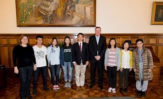 ESALQ recebe a visita da Universidade de Agricultura de Tóquio