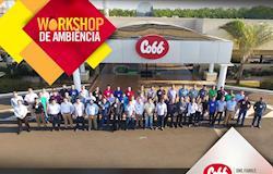 Cobb-Vantress promove novo workshop com foco em ambiência