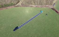 Tapete-solar é capaz de fornecer energia limpa em apenas 2 minutos