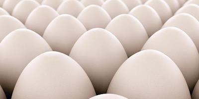 Menor demanda e sobras de ovos pressionam valores