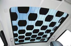 Células solares no teto do carro reduzem a emissão de CO² na atmosfera