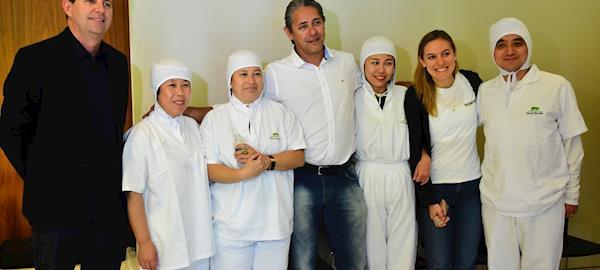 Chineses participam de visita em Sorriso para conhecer cadeia produtiva de suinocultura